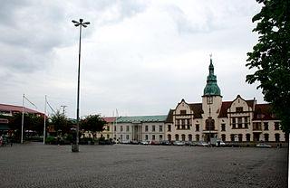 Karlshamn Place in Blekinge, Sweden