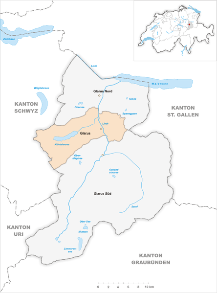 File:Karte Gemeinde Glarus 2011.png