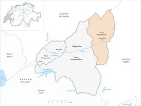 Localisation de Rougemont