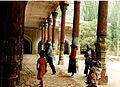 Kashgar-Mausolée d'Abakh Khoja 1996 mosquée entrée.jpg