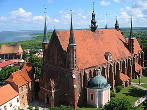 Frombork Cathedral — Copernicus' burial place.