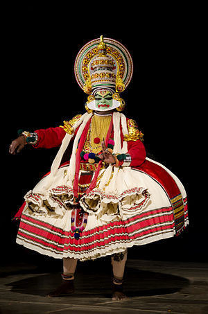 Indian classical dance - Image: Kathakali BNC