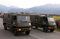 Kdo DURO M2+M1 o. 2xM2+ - Schweizer Armee - Steel Parade 2006