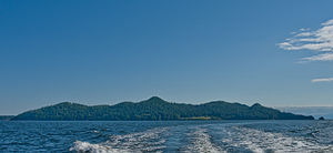 Keats Island (British Columbia) - Keats Island from the north.