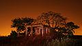 Keesara site at night.jpg