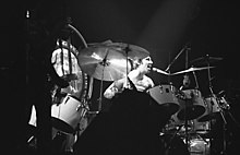 Keith Moon singing