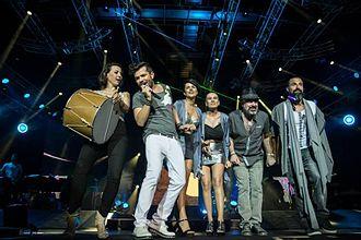 Kenan Doğulu - Kenan Dogulu and his team members, 2014 İstanbul Concert