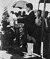 Kentaro Shibayama at the memorial service for the Great Kanto earthquake (1923).jpg