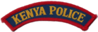 The Kenya Police patch.