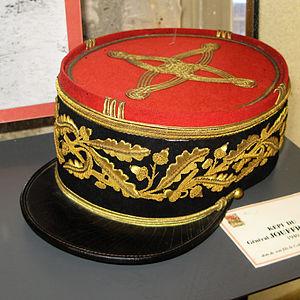 Général - Képi of a général