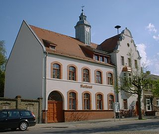 Ketzin Place in Brandenburg, Germany