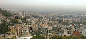 Kfarchima town overview picture from one side.jpg