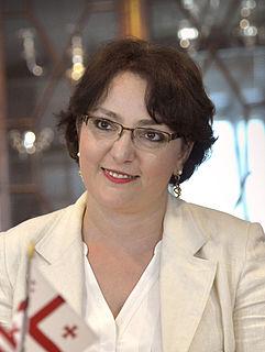 Tina Khidasheli Georgian politician and lawyer