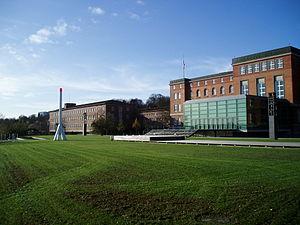 Landtag of Schleswig-Holstein - Landeshaus in Kiel, the seat of the Landtag