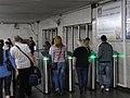 Kievskaya stations exit, turnstiles (Выход со станций Киевская, турникеты) (4976395292).jpg
