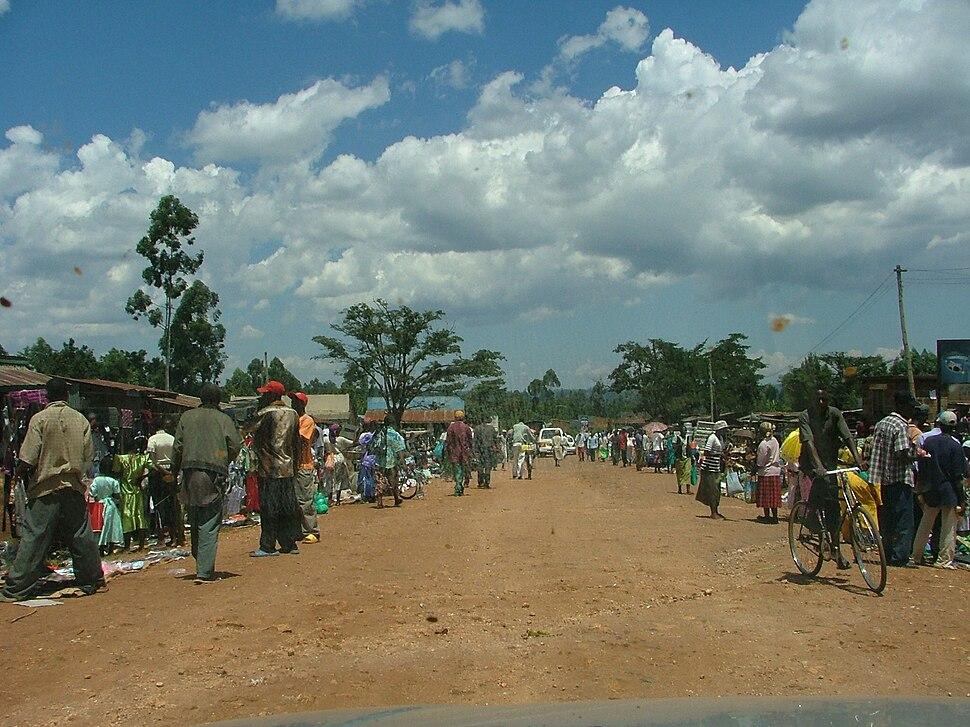 Kilingili Market thru car 1