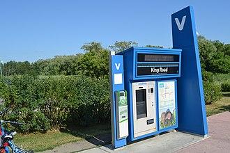 Oak Ridges, Ontario - King Road VIVA station