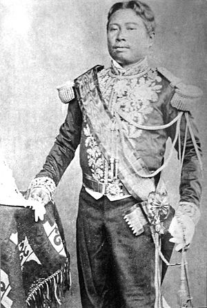 French Protectorate of Cambodia - King Norodom, the monarch who initiated overtures to France to make Cambodia its protectorate in 1863 to escape Siamese pressure