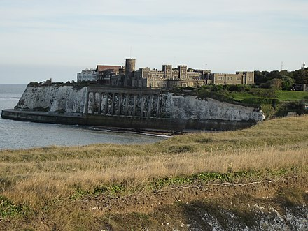 Kingsgate Castle in Kent was built by Holland, although most of the current structure is Victorian. Kingsgate-castle.jpg