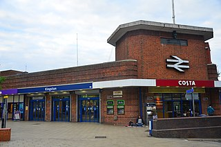 Kingston railway station (England) railway station in Royal Borough of Kingston upon Thames of England