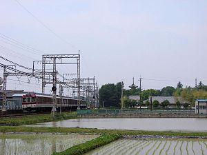 Kashihara Line - Image: Kintetsu Series 8400 Kashihara
