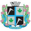 Coat of arms of Kirovske / Khrestivka
