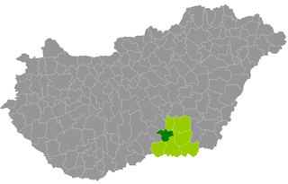 Kistelek District Districts of Hungary in Csongrád