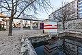 Klagenfurt Villacher Vorstadt Lendhafen Elisabeth Brücke 03122018 5529.jpg