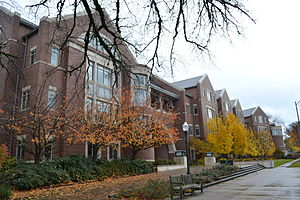 University of Oregon School of Law - Image: Knight Law Center (University of Oregon)
