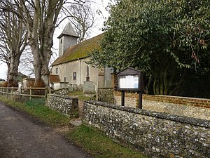 Knights Enham - Image: Knights Enham St Michael And All Angels geograph.org.uk 1718350