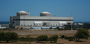 Light-water reactor - The Koeberg nuclear power station, consisting of two pressurized water reactors fueled with uranium
