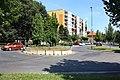 Kolín II, Benešova street, roundabout.jpg