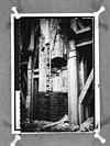 kolom tijdens herstel, gezien uit zijbeuk - ede - 20066781 - rce