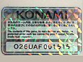 Konami license tag O26UAF001515.jpg