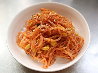 Soybean sprout - red kongnamul muchim