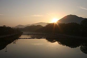 Yeongsan River - Yeongsan River flowing through Damyang