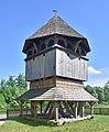 Kornie, cerkiew św. Paraskewy, dzwonnica (HB2).jpg