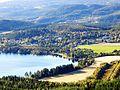 Korsvegen, nordsiden av Gaustadvatnet.jpg