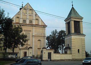 Raszyn Village in Masovian, Poland