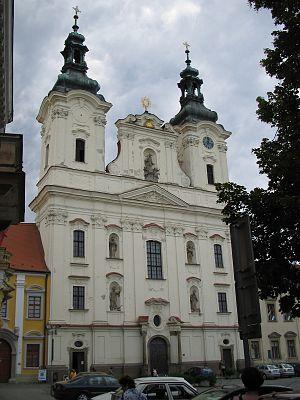 Uherské Hradiště - Church of St Francis Xavier