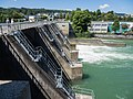 Kraftwerk Stauwehr mit Brücke Reuss Zufikon AG - Bremgarten AG 20160807-jag9889.jpg