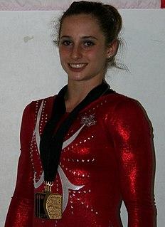 Kristina Vaculik Canadian artistic gymnast