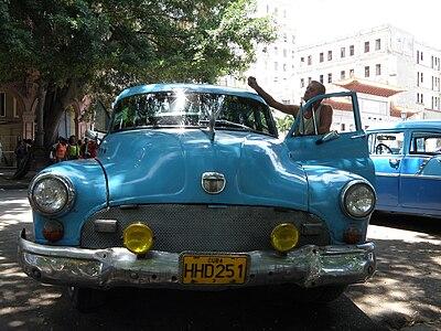Taxi in La Habana, Cuba