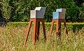 Kunstwerk van Carla Dijk Keramiek. Locatie, Tuinen Mien Ruys 01.jpg