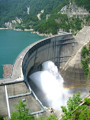 Hydroelectricity in Japan - The Kurobe Dam