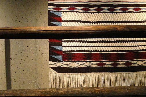 Kwakiutl Weaving - Museum of Anthropology UBC - Vancouver BC - Canada