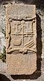 Lápida nas ruínas de Santa Mariña Dozo - Cambados-CA28.jpg