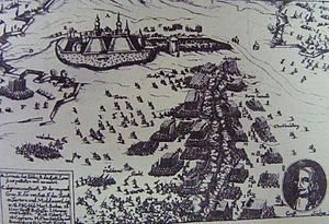 Siege of Léva - Image: Léva ostroma (1664)