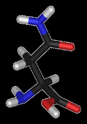 Asparagine (data page) - 3D structure of Asparagine