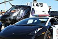 LAPD Helicopter and Lambo - Chino Airshow 2014 (14059042530).jpg